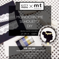 WORKSHOP KITTYMANU X MT : MONOCHROME SILHOUETTE DIY
