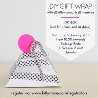 Workshop Kittykitz : DIY Gift Wrap