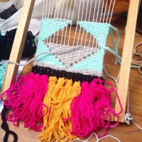 Living Loving Afternoon Delight : Weaving Session