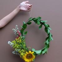 DIY : Sunny Wreath