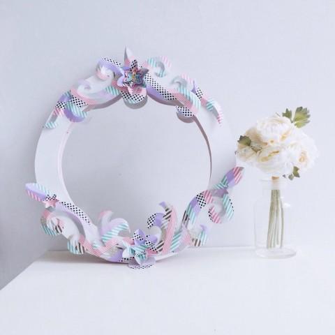 Workshop : DIY Floral Mirror Frame