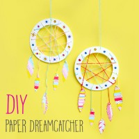 DIY : Paper Dreamcatcher