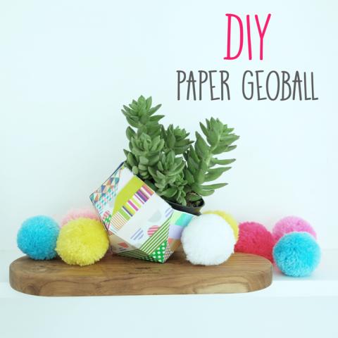 DIY : Paper Geoball