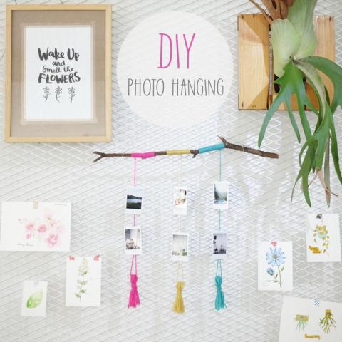 DIY : Photo Hanging